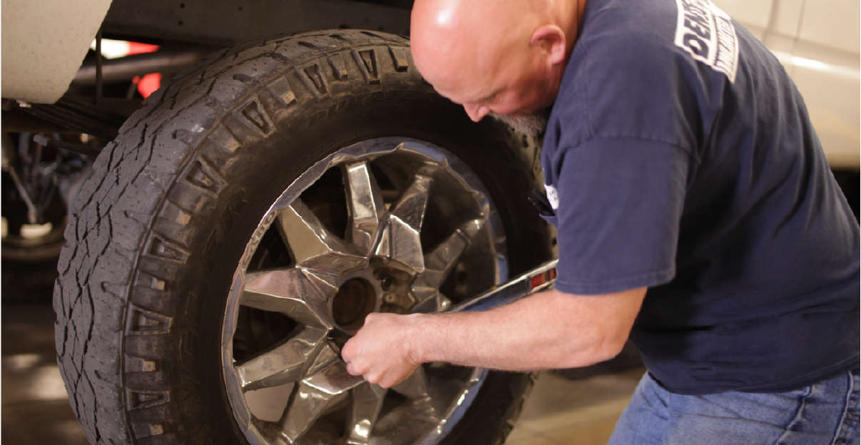 Making Auto Repairs tire images