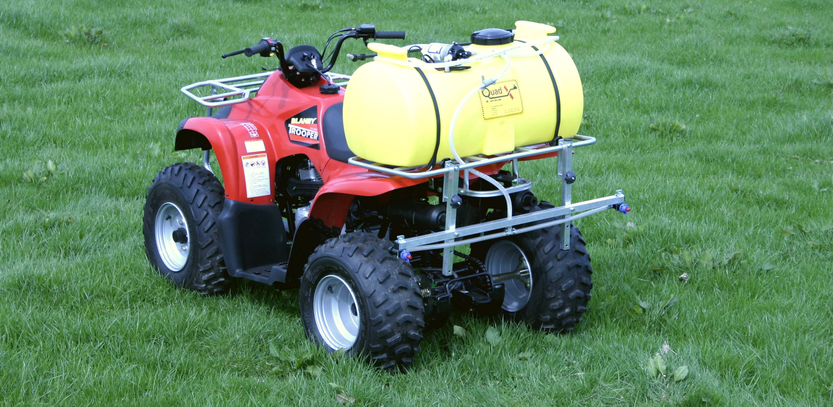 Quad Bike With ATV Accessories pictures