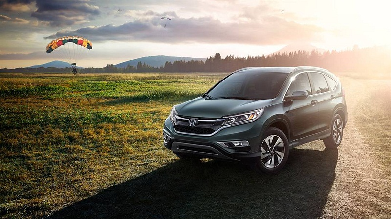 Honda CR-V 2016 on the field photos