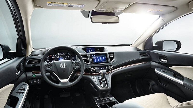 Honda CR-V 2016 from inside pic