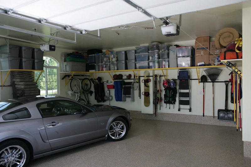 Preparation Of The Car To The Garage Storage