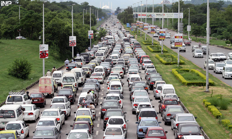 Benefit from car traffic jams photos