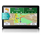 Chupad GPS Navigation for Car, 7-Inch HD Touch Screen GPS Navigation System with Lifetime Map Update