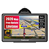 GPS Navigation for Car, 7 Inch HD Touch Screen Car GPS Voice Broadcast Navigation, Free North America Map Updata Contains USA, Canada, Mexico map